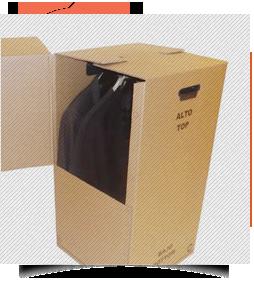 Caja Carton Armario
